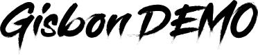Preview image for Gisbon DEMO Font