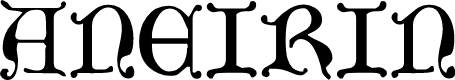 Preview image for Aneirin Font