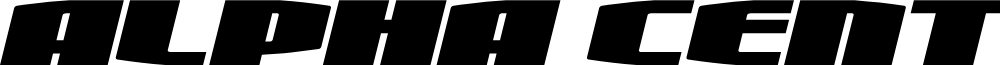 Alpha Century Expanded Italic