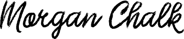Preview image for Morgan Chalk Font