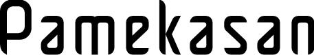 Preview image for Pamekasan Font
