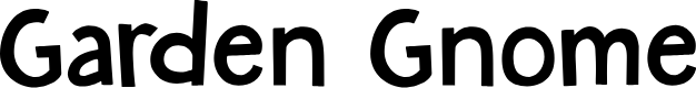 Preview image for DKGardenGnome Font