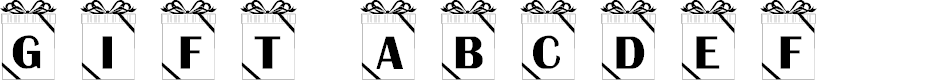 Preview image for 101! Gift Font
