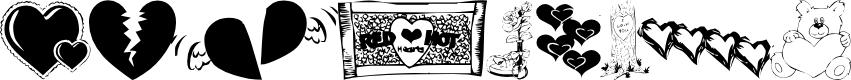 Preview image for KR Belated Valentine Font