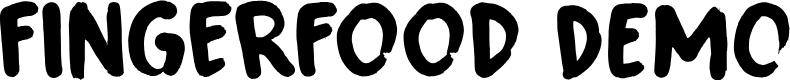 Preview image for Fingerfood DEMO Regular Font