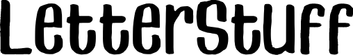 Preview image for LetterStuff Font