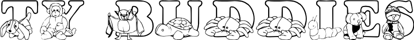 Preview image for LMS Ty Buddies Font