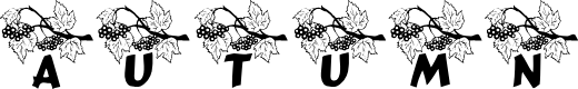 Preview image for LCR Autumn Font