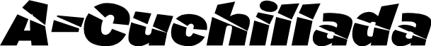 A-Cuchillada