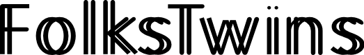 Preview image for FolksTwins Font
