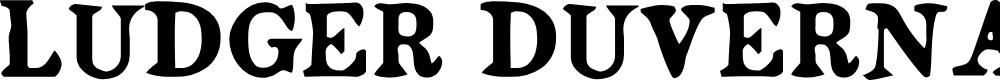 Preview image for Ludger Duvernay Regular Font