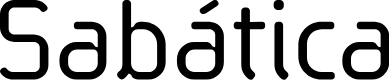 Preview image for SabaticaRegular Font