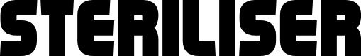 Preview image for Steriliser Font
