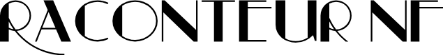 Preview image for Raconteur NF Font