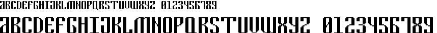 Cyrillic Pixel-7
