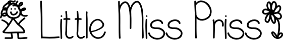 Preview image for LittleMissPriss Font