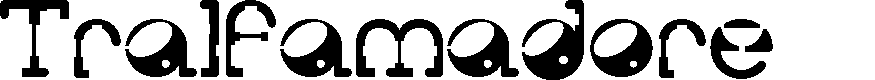 Preview image for Tralfamadore Font