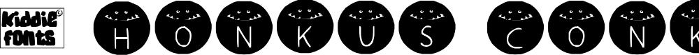 Preview image for HONKUS CONKUS Medium Font