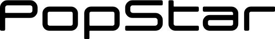 Preview image for popstarregular Font