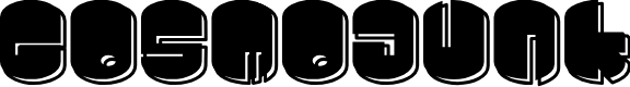Preview image for Cosmojunk Font