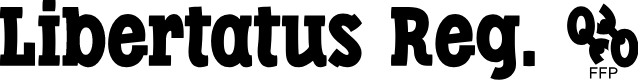 Preview image for Libertatus-Regular Font