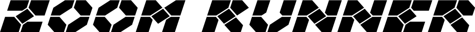 Zoom Runner Expanded Italic
