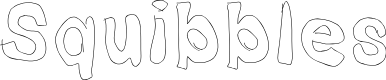 Preview image for Squibbles Font