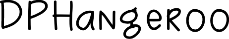 Preview image for DPHangeroo Font