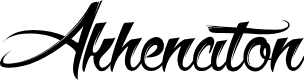 Preview image for Akhenaton Font