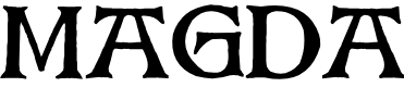 Preview image for Magda Font