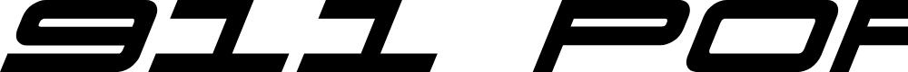 Preview image for 911 Porscha Bold Italic