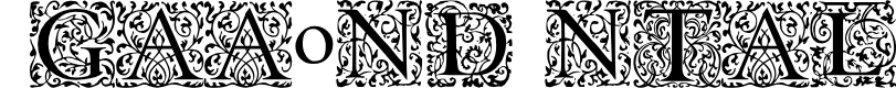 Preview image for EB Garamond Initials