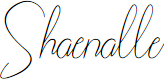 Preview image for Shaenalle Font