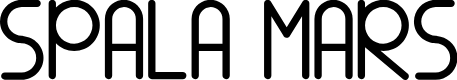 Preview image for SPALA MARS Font