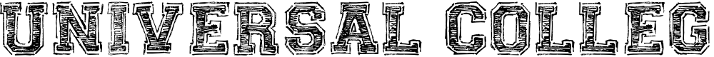 Preview image for UNIVERSAL-COLLEGE-draft Font