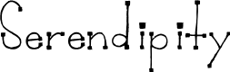 Preview image for Serendipity Font