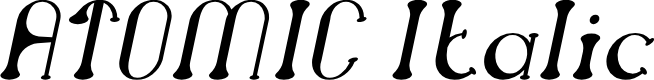 Preview image for ATOMIC Italic
