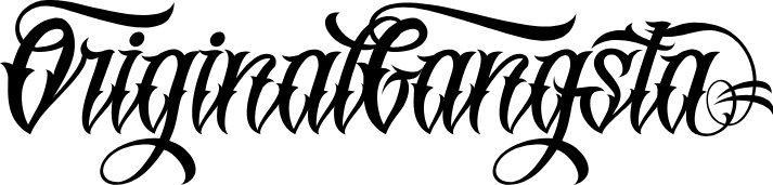 Schrift tattoo chicano chicano script