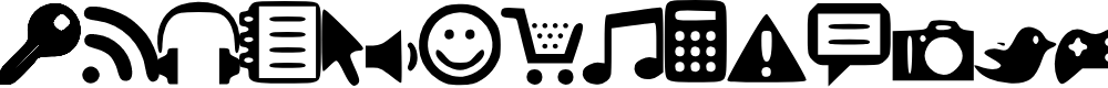 Preview image for Symbols1 Font