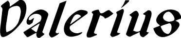 Preview image for Valerius Italic