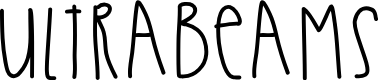 Preview image for UltraBeams Font