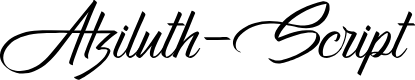 Preview image for Atziluth-Script Font