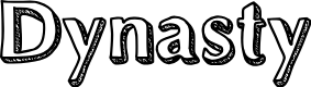 Preview image for Dynasty Font