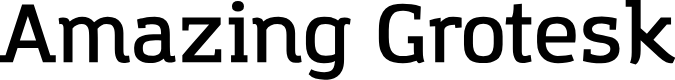 Preview image for Amazing Grotesk DemiBold