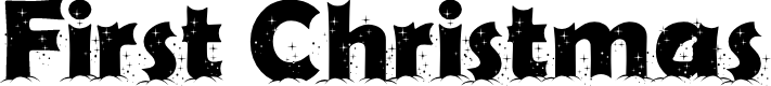 Preview image for First Christmas Font