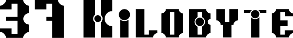 Preview image for 37 Kilobyte Font