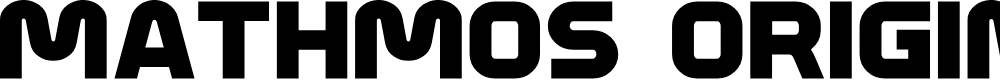 Preview image for Mathmos Original Font