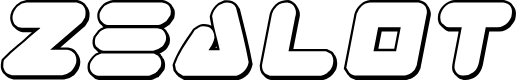 Preview image for Zealot Outline Italic