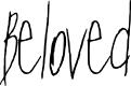 Preview image for Beloved Regular Font