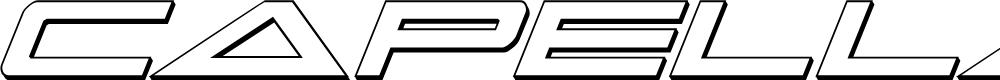 Preview image for Capella 3D Italic